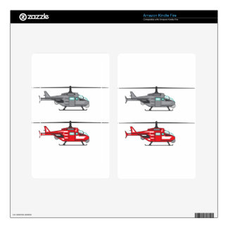 Modern Concept Helicopter Skins For Kindle Fire