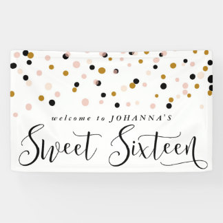 Sweet 16 Banner Template