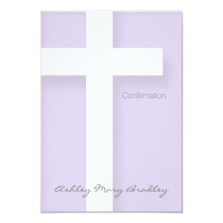 Modern Confirmation Invitation Choose your Color 1
