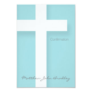 Modern Confirmation Invitation Choose your Color 2