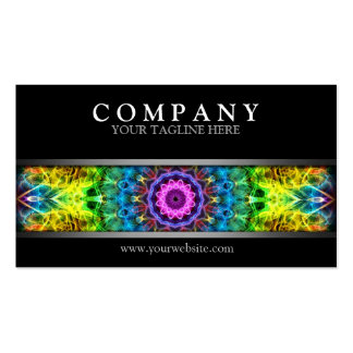 Modern Confused Harmony Business Card