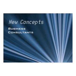 Modern Consultant Large Business Card