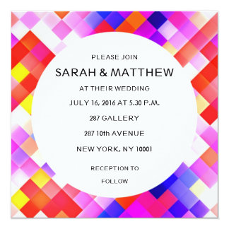 Modern Contemporary Abstract Geometric Card