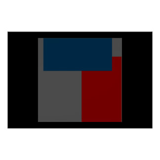 Modern Contemporary Abstract Poster