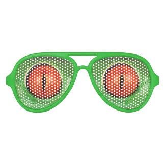 modern cool nerdy crazy frog eyes aviator sunglasses