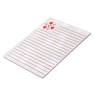 Modern cool unique pattern note pad