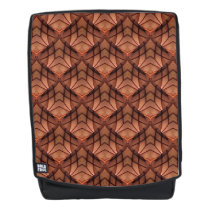 Modern Copper Colored Pattern 034 Backpack