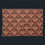 "Modern Copper Colored Pattern 034 Kitchen Towel<br><div class=""desc"">A cool copper colored pattern with a modern flair.</div>"