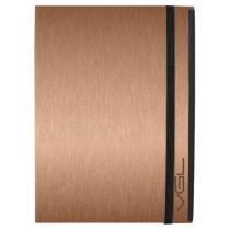 "Modern Copper Tones Metallic Look Background iPad Pro 12.9"" Case"