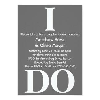 Modern Couples Shower Invite - I Do