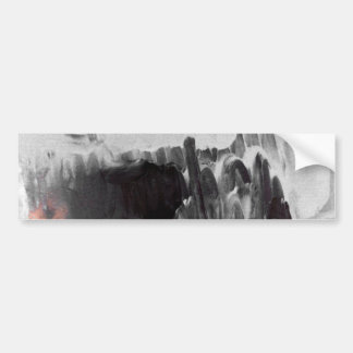 Modern Creative Abstract Car Bumper Sticker