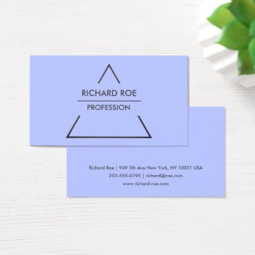 Professional Business Modern Creative Blue Professional Business Cards