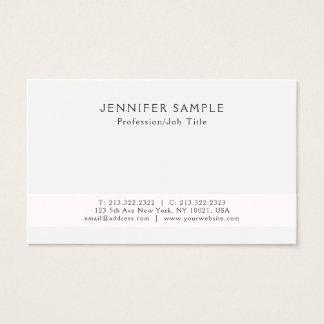 Modern Creative Elegant Professional Simple Design Business Card