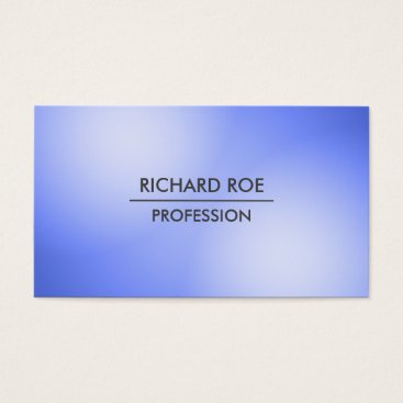 USA Themed Modern Creative Professional Blue Business Cards