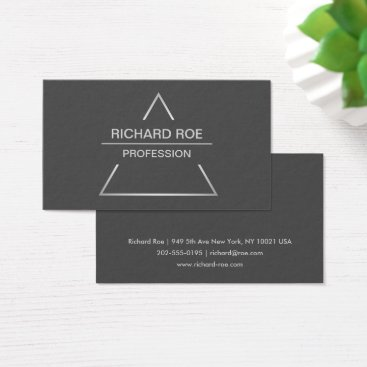 Modern Creative Professional Dark Business Cards
