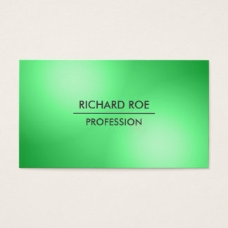 Modern Creative Professional Green Business Cards
