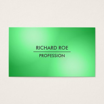 USA Themed Modern Creative Professional Green Business Cards