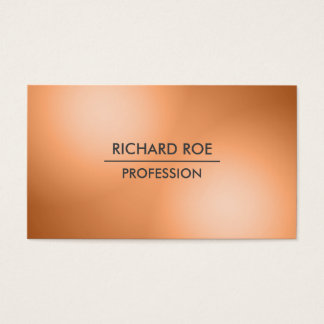 Modern Creative Professional Orange Business Cards