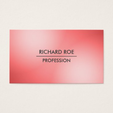 USA Themed Modern Creative Professional Red Business Cards