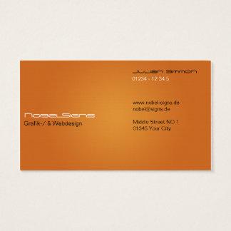 Modern creative texture visiting card Businesscard