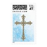 Modern Cross Postage Stamp