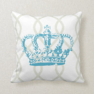 Modern Crown Graphic Pillow