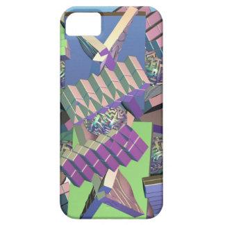 Modern cubistic 3-d iPhone 5 case