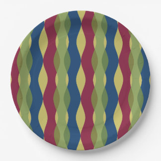 Modern Curves Paper Plate