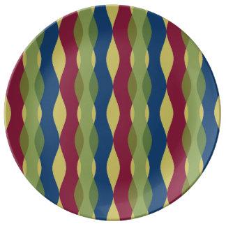 Modern Curves Porcelain Plate