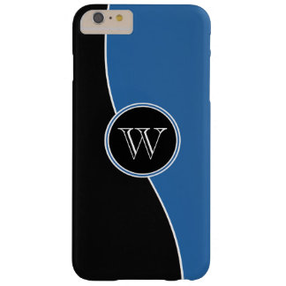 Modern Curves Professional Monogrammed Barely There iPhone 6 Plus Case