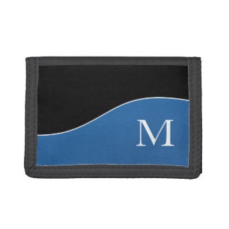 Modern Curves Sporty Personalized Tri-fold Wallet