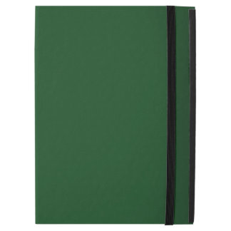 Modern Customizable Forest Green iPad Pro Case