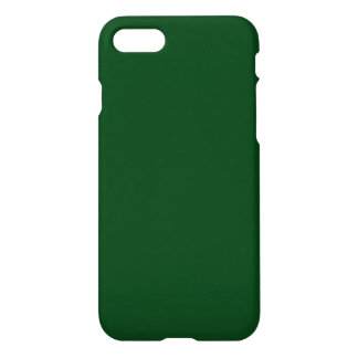 Modern Customizable Forest Green iPhone 7 Case