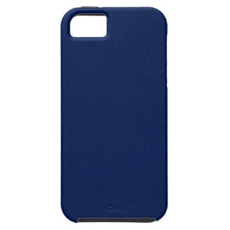 Modern Customizable Royal Navy Blue iPhone SE/5/5s Case