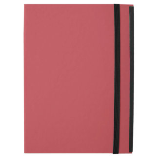 "Modern Customizable Ruby Red iPad Pro 12.9"" Case"