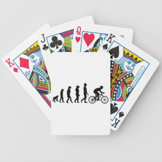 Modern Cycling Human Evolution Scheme Bicycle Playing Cards