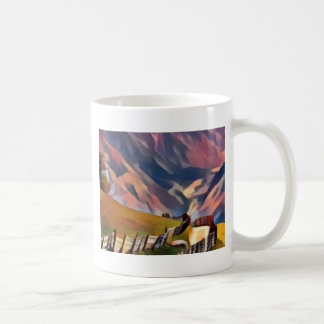 modern, dadaism,digital,painting,colorful,norway coffee mug