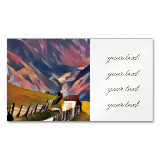 modern, dadaism,digital,painting,colorful,norway,n magnetic business card