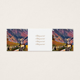 modern, dadaism,digital,painting,colorful,norway,n mini business card