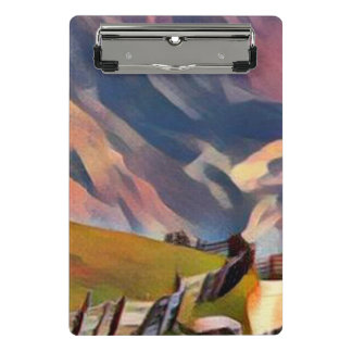 modern, dadaism,digital,painting,colorful,norway,n mini clipboard
