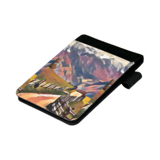 modern, dadaism,digital,painting,colorful,norway,n mini padfolio
