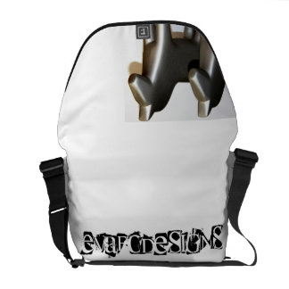 Modern Dalecarlian horses in good-looking covers Courier Bag