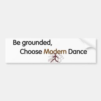 Modern Dance Bumper Sticker