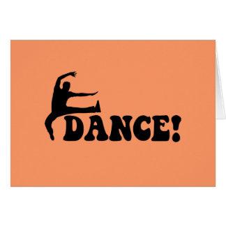 modern dance card