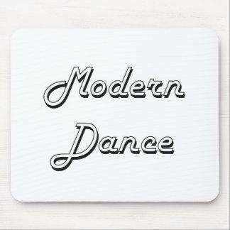 Modern Dance Classic Retro Design Mouse Pad