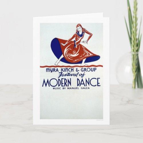Modern Dance Festival 1938 WPA