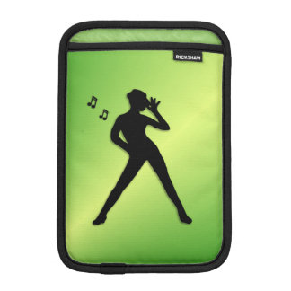 Modern Dance Green Sleeve For iPad Mini