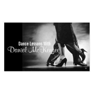 Modern Dance Instructor Business Card