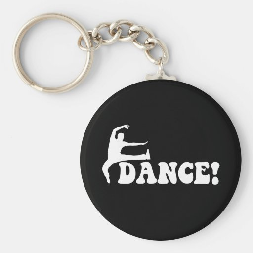 modern dance key chains