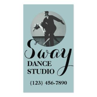 Modern Dance Lessons, Dance Studio Business Card